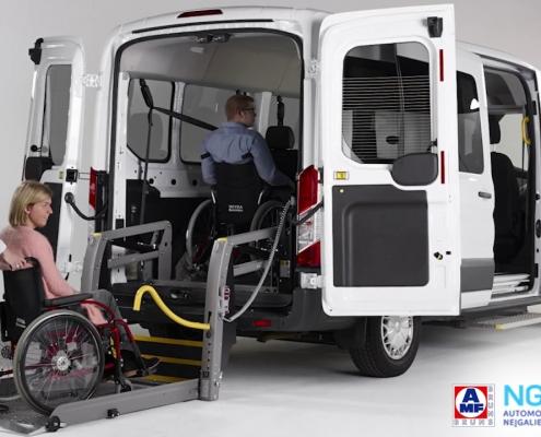 Neįgaliųjų įrangos montavimas